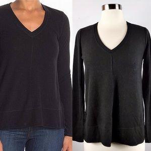 NWOT✨H by Bordeaux Fleece Sweater Black S